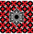 thai flower art design vector image vector image