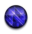 abstract arrows app icon vector image