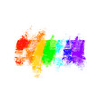abstract brush strokes paint with texture vector image