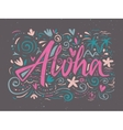 Aloha shirts to print vector image