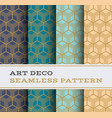art deco seamless pattern 21 vector image vector image