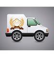 bakery car design vector image
