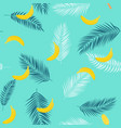 beautifil summer seamless pattern background with vector image vector image