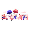 elderly people active lifestyle aged pensioner vector image