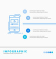 media music player video mobile infographics vector image