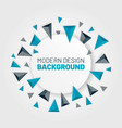 modern abstract background with arrows vector image