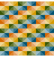 seamless simple geometric pattern vector image vector image