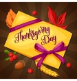 thanksgiving day greeting card background