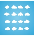 clouds collection Concept - computing web and app vector image vector image