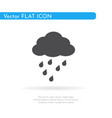 rain icon for web business finance and vector image
