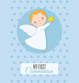 angel boy vector image vector image