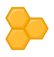 Honeycomb of bee icon cartoon style vector image vector image