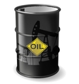 barrel oil vector image vector image