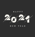 happy new year 2021 abstract card text vector image