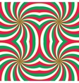 Hypnotic swirling background vector image
