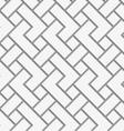 Perforated rectangular irregular grid vector image vector image