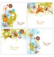 set floral vector image