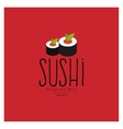 Sweet Suchi Menu vector image