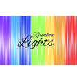 background design with rainbow lights vector image vector image
