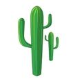 Cactus icon cartoon style vector image vector image
