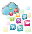 Cloud Computing vector image vector image