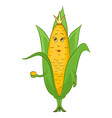 corn character vector image