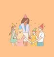 entertainment holiday education celebration vector image