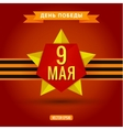 Star May 9 Victory Day vector image
