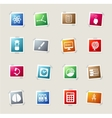 University simply icons vector image vector image