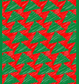 xmas tree pattern texture vector image