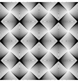 Design seamless uncolored geometric pattern vector image vector image