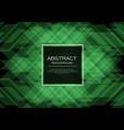 luxury green emerald pattern on black vector image