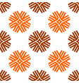 seamless pattern shuriken geometric ornamental vector image