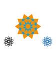 set logo design templates arabic symbols