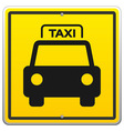 Taxi sign in new york vector