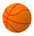 basketball ball simple eps10 vector image vector image