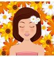 beauty spa design vector image vector image