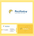 Bun logo design with tagline front and back