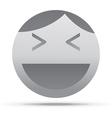 Emoticon design vector image vector image