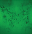 green abstract grunge background vector image