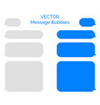 message bubbles chat smartphone design vector image vector image