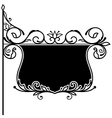 Ornate board vector image vector image