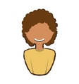 people woman profile icon image vector image vector image