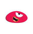 cute adorable ugly scary funny mascot monster vector image vector image