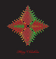 Elegant christmas background with abstract vector image