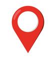 location pointer icon vector image vector image