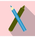Marker pen and pen icon vector image vector image