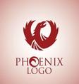 phoenix logo 1 vector image vector image