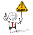 Simple Business People Attention vector image