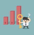 decision making invest vector image